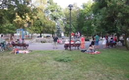 Uwielbienie w parku - sierpień 2017
